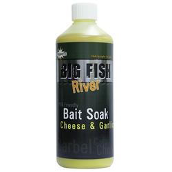 Dynamite Baits Big Fish River Bait Soak Cheese&Garlic 500 ml