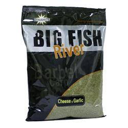 Dynamite Baits Big Fish River Groundbait Cheese&Garlic 1,8 kg