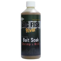 Dynamite Baits Big Fish River Bait Soak Shrimp&Krill 500 ml